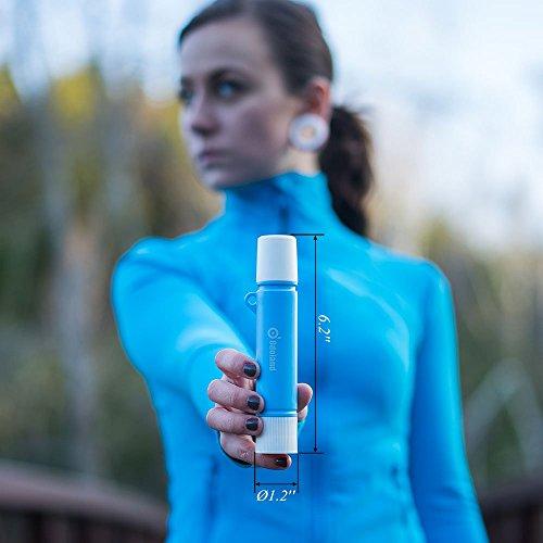 Mini Wasserfilter, ODOLAND Persönlicher Wasserfilter Filter für Outdoor Camping Wandern Trekking - 2