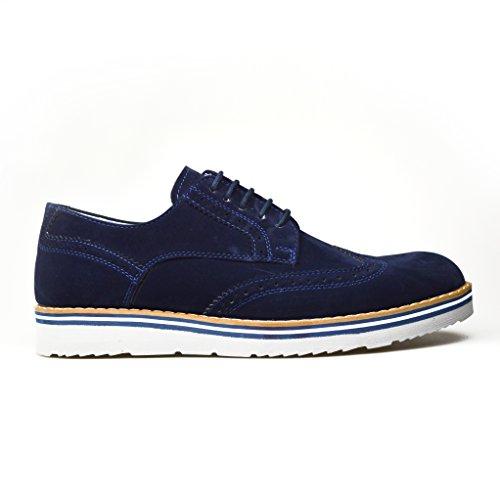 ClassyDude , chaussures compensées mixte adulte fille femme garçon Bleu