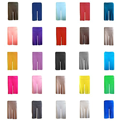 Papaval New Ladies Women Pull On Soft Jersey Culottes Standard & Plus Sizes