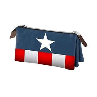 Karactermania Los Vengadores Capitán América Estuches, 24 cm,  Azul
