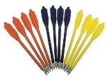 Shop SoftAir 12 Frecce Freccette in ABS e Metallo per Balestra Colorate Freccia Tiro a Bersaglio