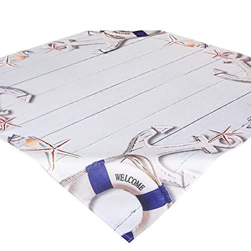 Tovaglie WELCOME / 85x85 cm / moderna stampati / marittimo / quadrata