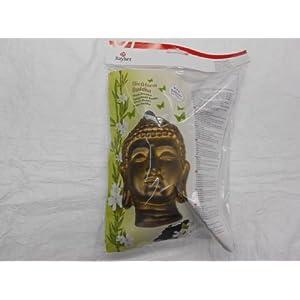 Rayher Hobby 36013000 Gießform, ca. 23 x 18 cm, Buddha 20 cm, lebensmittelecht, frost- und hitzebeständig, gießen Kreativ-Beton, Raysin-Gießpulver, Wachs, Gieß-Schablone