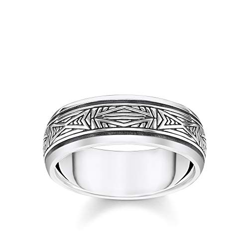 Thomas Sabo Unisex-Ring Ornamente silber 925 Sterlingsilber silberfarben TR2277-637-21-64