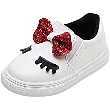Zapatos Bebe niña,Niños Bebés Infantil Crystal Bowknot LED Botas Luminosas Zapatillas Deportivas