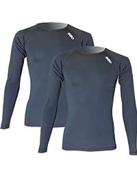 a8b766843cd52 Pack x2ud Camiseta Interior Deportiva EKEKO WARMRACE JHKACTIVE. Camiseta  Interior de Manga Larga .Poliester
