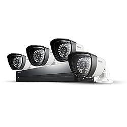Samsung SDS-P4042/EX Videoüberwachung Kamera Set (8-Kanal, 4x Kamera)
