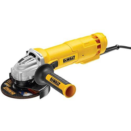 Dewalt DWE4233-QS Mini-Amoladora 125 mm 1.400W 11.500 RPM con Interruptor Hombre-Muerto