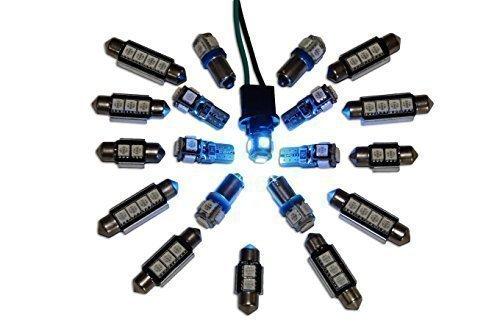 LED-Mafia® - 7 LED - Innenraumbeleuchtung Set - blau - 122144-36