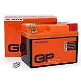 Batterie 12V 5Ah Gel GP Pro (Typ GTX4L BS hnlich YTX4L BS) (versiegelt wartungsfrei)