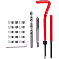 Teabelle 30 piezas M5 rosca métrica reparación insertar bobina Helicoil para Kit de reparación ...