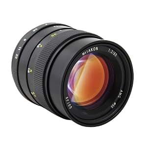 Zhongyi Mitakon objectif à grande ouverture 85mm f/2.0 (noir) pour la caméra de Canon EF