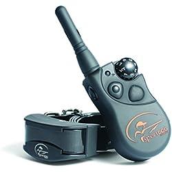 SportDOG - Collier de Dressage pour Chien avec Télécommande SportTrainer, Submersible, 7 Niveaux de Stimulation Statique, Vibration et Signal Sonore - Portée 450 m