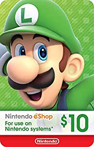 Nintendo eShop PrePaid Card $10 USD (Switch/3DS/Wii U)