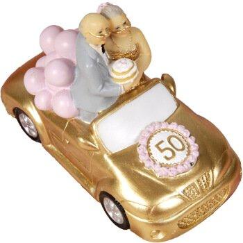 Radfahren die alten Eltern Ornamente kreative Dekorationen zu geliebten Geburtstag Hochzeit Geschenke, goldene Hochzeit ärgerlich.