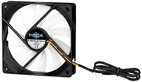 Fractal Design Silent Series R3 40mm Boitier PC Ventilateur - ventilateurs, refoidisseurs et radiateurs (Boitier PC, Ventilateur, 4 cm, 4000 tr/min, 20 dB, 3,6 cfm)