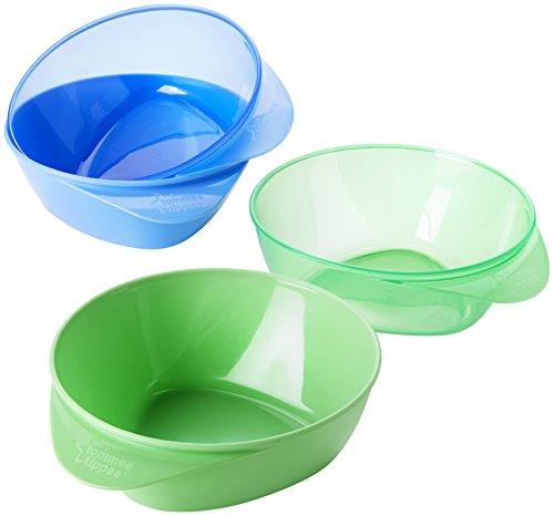 Tommee Tippee Explora - Boles Easy Scoop, 4 unidades, color azul