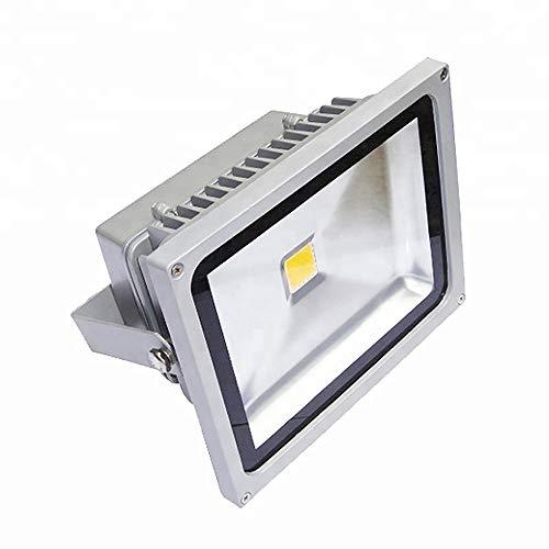 FGKING Impermeable luz de inundación, 20W LED al Aire Libre IP65 Super...