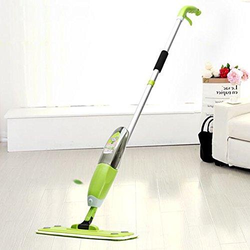 Flat mop acqua a spruzzo spray/lavaggio a mano gratuito grande famiglia parquet centrifuga trascinare un uomo pigro–due testa di rimorchio mop-01
