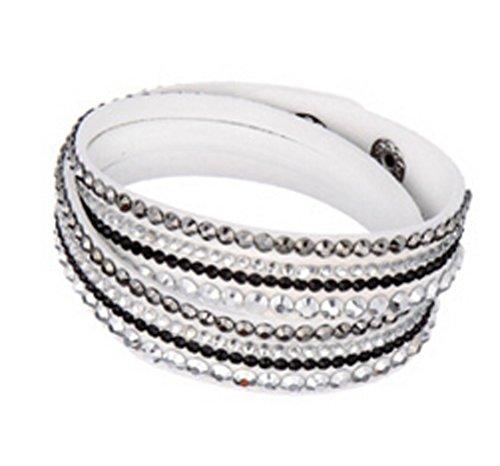SaySure - Shine Multilayer Slake Deluxe Bracelet Wrap Bracelets