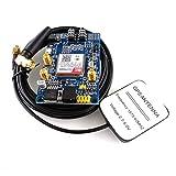 Scheda di sviluppo GPS GSM GPRS modulo SIM808 IPX SMA con antenna GPS per Raspberry Pi STM32 51MCU Supporto vocale