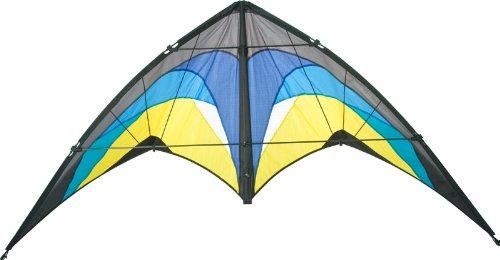 Aquilone acrobatico Bolero II Artic HQ-Invento a 2 cavi per iniziare. Dimensioni: 163 x 83 cm.