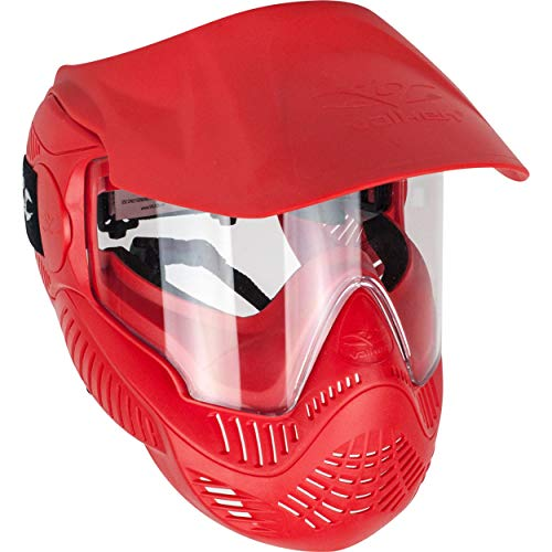 Valken Airsoft MI-3 Gotcha Face Mask Quick Change Lens Release Paintball Red (Quick Change Paintball)