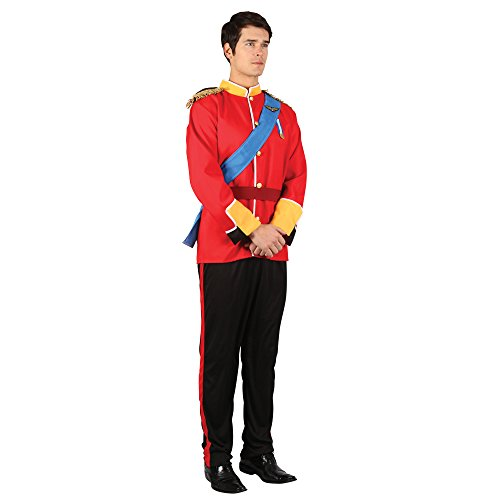 Imagen de los adultos de disfraces vestido de soldado de juguete de lujo para hombre hermoso traje príncipe azul  112cm