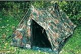 """Verde del ejército de campaña """"Ranger"""" 2 con el suelo y el diseño de camuflaje militar de protección matrasa, color - camuflaje, tamaño L=190cm, B=120cm, H=95cm"""