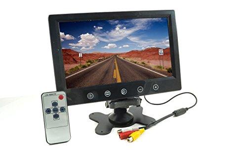 9pulgadas TFT monitor LED a colores botones a táctil con mando a distancia para coche caravana Casa