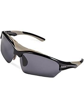 Duduma Gafas de Sol Deportivas Polarizadas Para Esquiar Golf Correr Ciclismo TR628 Súper Liviana Para Hombre y...