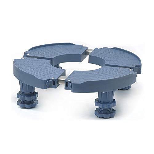 JINGMEI Base Universale Piedistallo per Mini Frigorifero Regolabile con Piedistallo Mobile Multi-Funzionale per Piedi Robusti per Asciugatrice Regolabile Supporto per Lavatrice,4legs