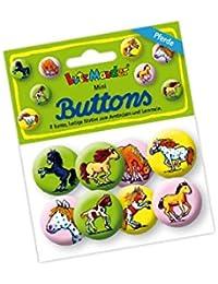 Lutz Mauder Lutz mauder67232mi Pony Mini botón Set (8piezas)