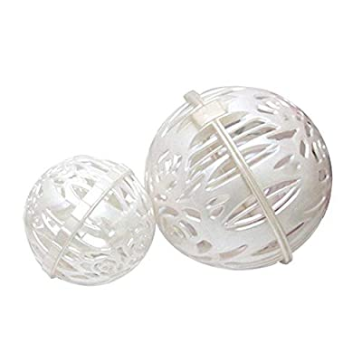 2 Pack Bra Wash Ball for Laundry Washing Machine Dryer Bra Protector Prevent Distortion Deforming Free Maid Ball