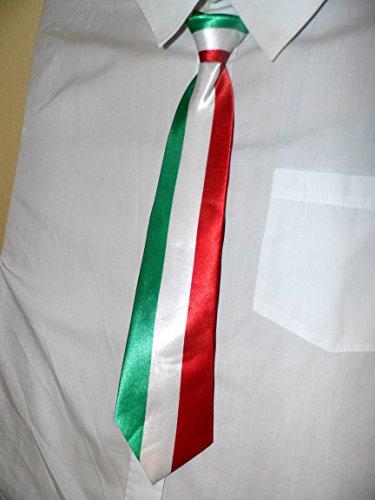Krawatte Binder in den Nationalfarben Italien