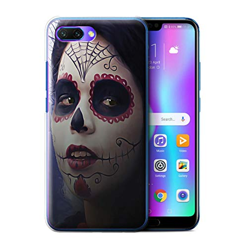 Stuff4® Hülle/Case für Huawei Honor 10 / Halloween Bilden Muster/Tag Der Toten Festival Kollektion