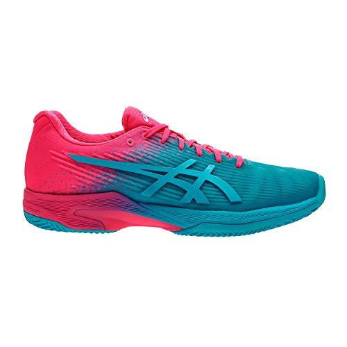 ASICS Scarpa Tennis Donna - Solution Speed FF L.E. Clay - Aquarium/Hot Pink 1042A025-40