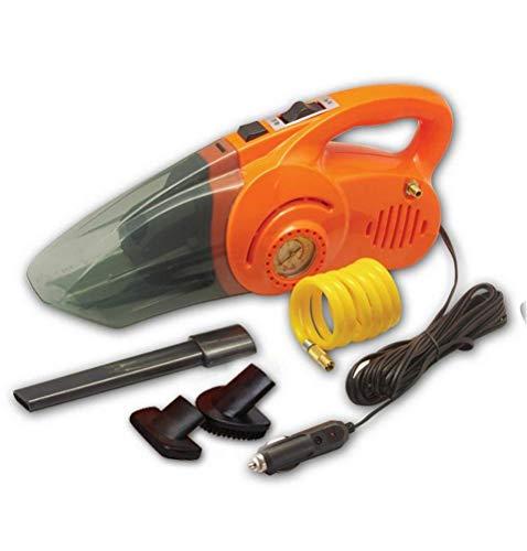 Oliwia Aspiradora aspirador de coche 12V-100W aspirador de coche portátil-4.5m cable de alimentación con manómetro de neumáticos y bomba de aire seco y mojado aspirador-alfombra máquina de limpieza,nara