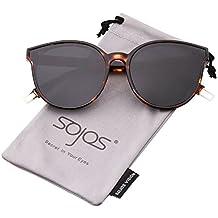 SOJOS Gafas De Sol Mujer Ojo De Gato Moderna Cómoda SJ2057 32f55262d6b4