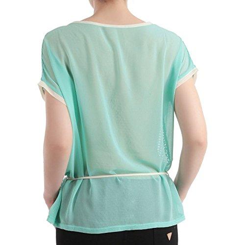 La Modeuse - T-shirt large et léger Bleu ciel