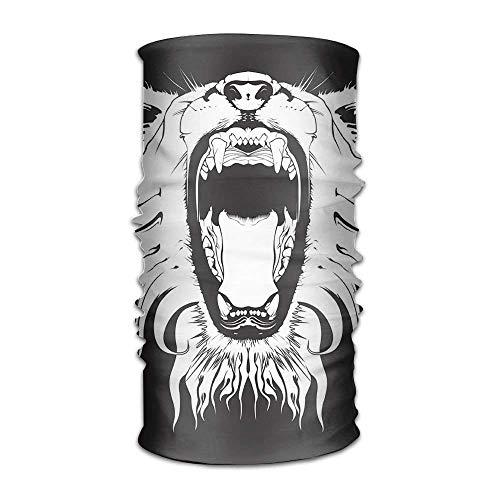 Aeykis Magic Headwear Bandeau bandeau en colère Motif lion