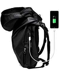 Laptop Backpack For Men, With Anti Water Resistant Durable Oxford Fabric Casual Shoulder Bag For Travel Business...
