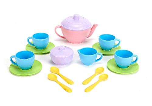 Neu Puppengeschirr Kaffeeservie Teeservice von Green Toys