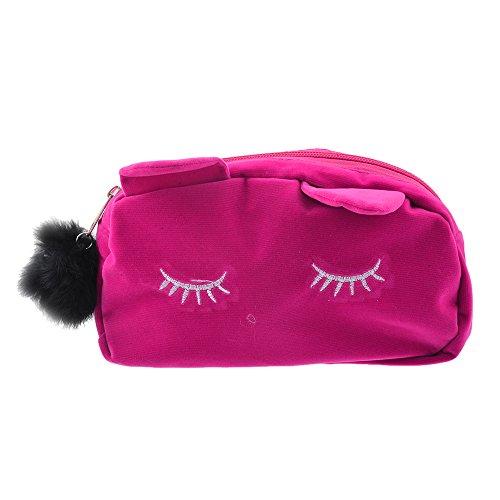 URIJK Kosmetiktasche Tragbare Make up Verpackung Reise Würfel Katze Typ Tasche Wasserdichte Aufbewahrungstasche Portable Damen Tasche -