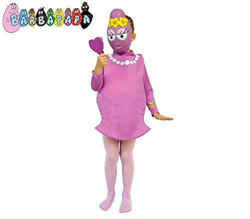 Media wave store 197734 costume carnevale travestimento barbabella bambina da 2 a 3 anni