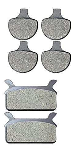 Resine Disc Brake Pads Set for HARLEY DAVIDSON Street Bike