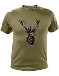 Camiseta de caza Ciervo