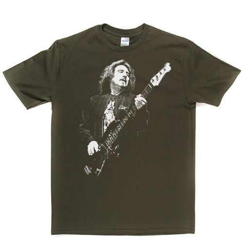 Geezer Butler Bass Bassist Music Tee T-shirt Militärgrün
