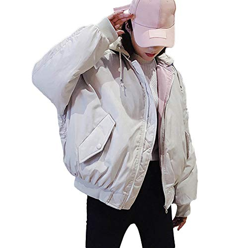 Femme Blouson à Manches Longues Hiver Chaud Manteau Veste Sweat-Shirt À Capuche Mode Tops Écharpe, QinMM Pull Manteau à Capuchon pour Femmes, à la Fois Solide et résistant