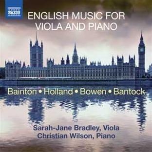 English Music for Viola and Piano